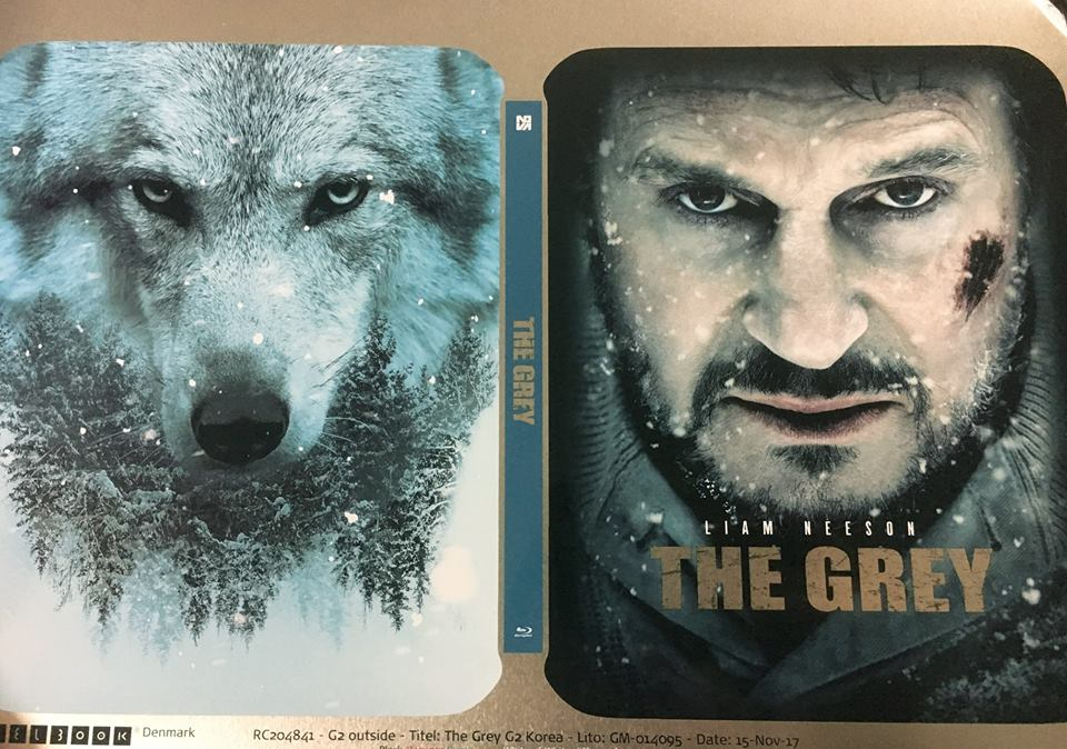 The Grey steelbook Novamedia