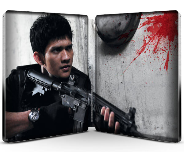 The Raid 1 & 2 steelbook zavvi 2