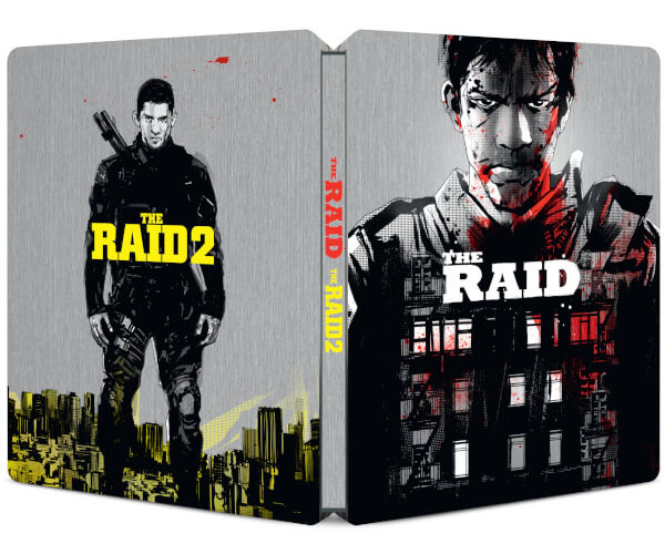 The Raid 1 & 2 steelbook zavvi