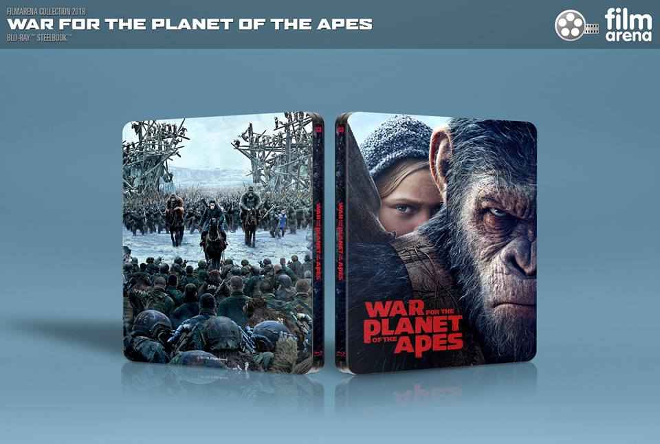 War Planet Apes steelbook filmarena