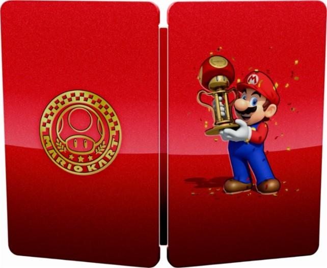 mario kart 8 deluxe steelbook