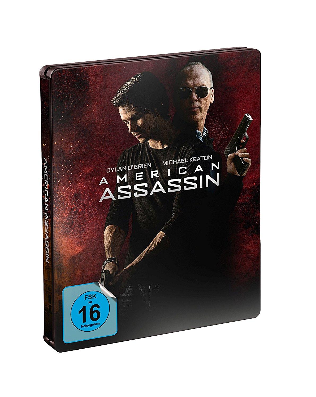 American Assassin steelbook DE