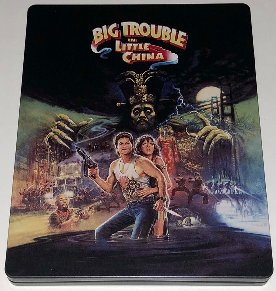 Big Trouble in CHina steelbook 1