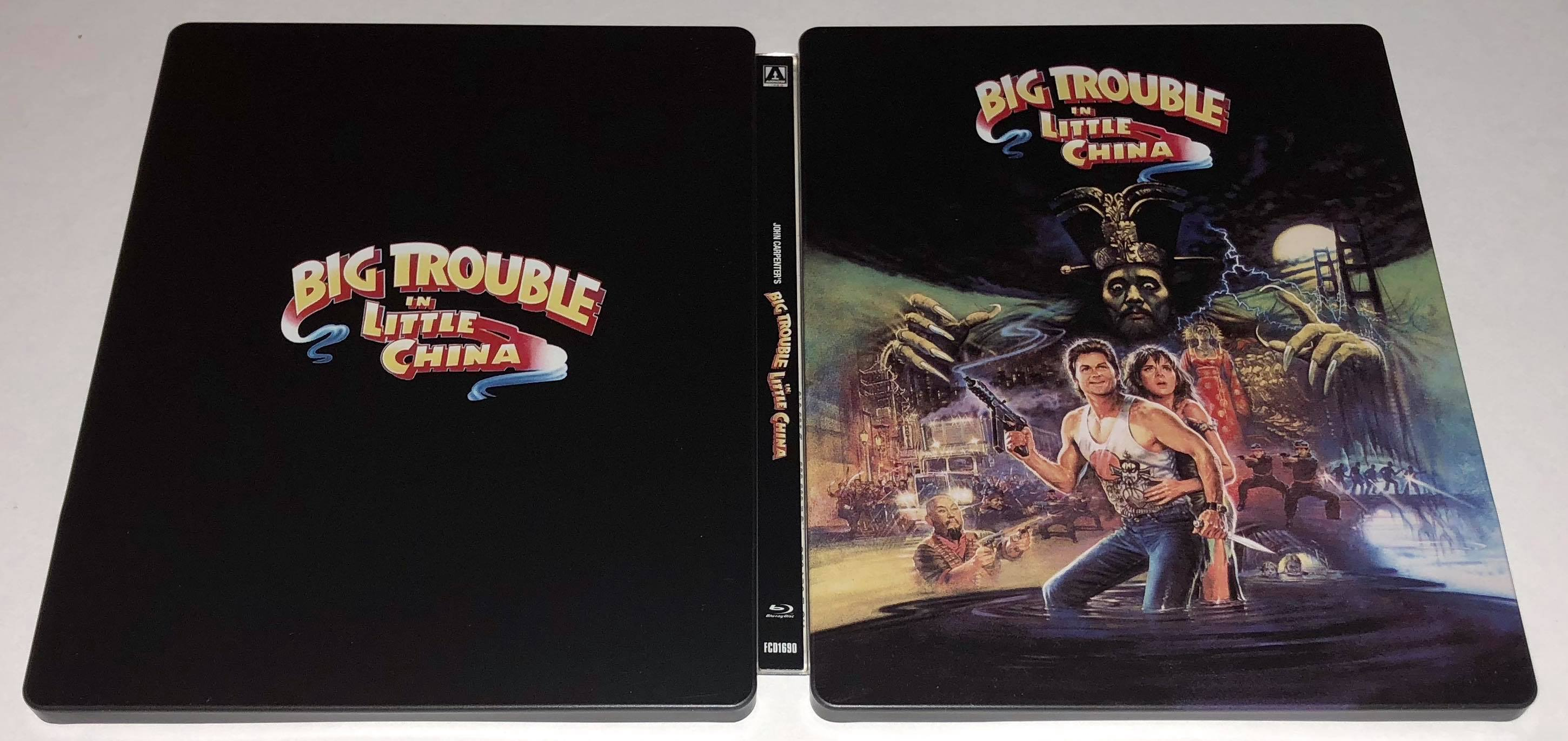 Big Trouble in CHina steelbook 3