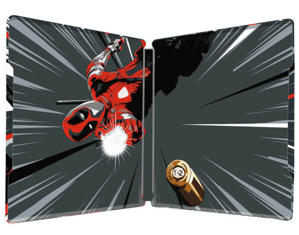 Deadpool steelbook 3