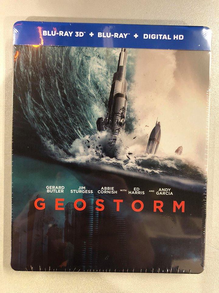 Geostorm steelbook 1