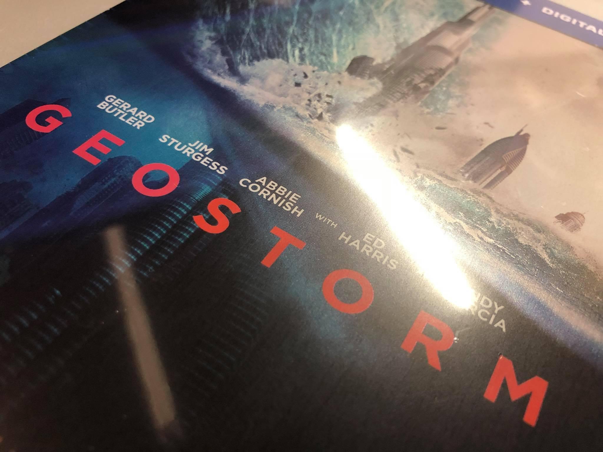 Geostorm steelbook 2