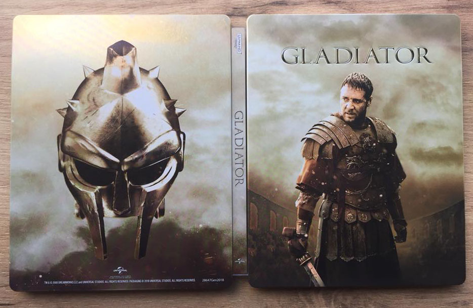 Gladiator steelbook 4K 1