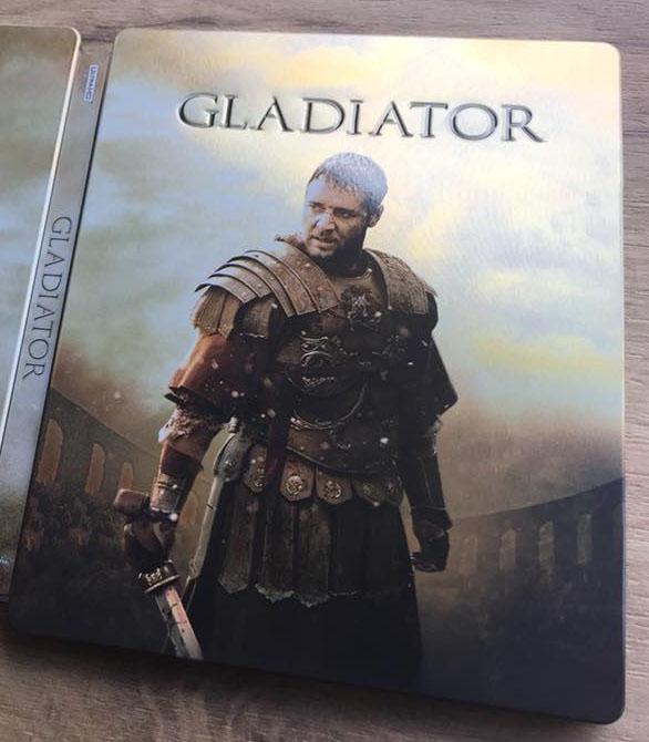 Gladiator steelbook 4K 4