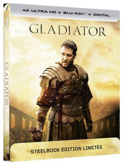 Gladiator steelbook 4K