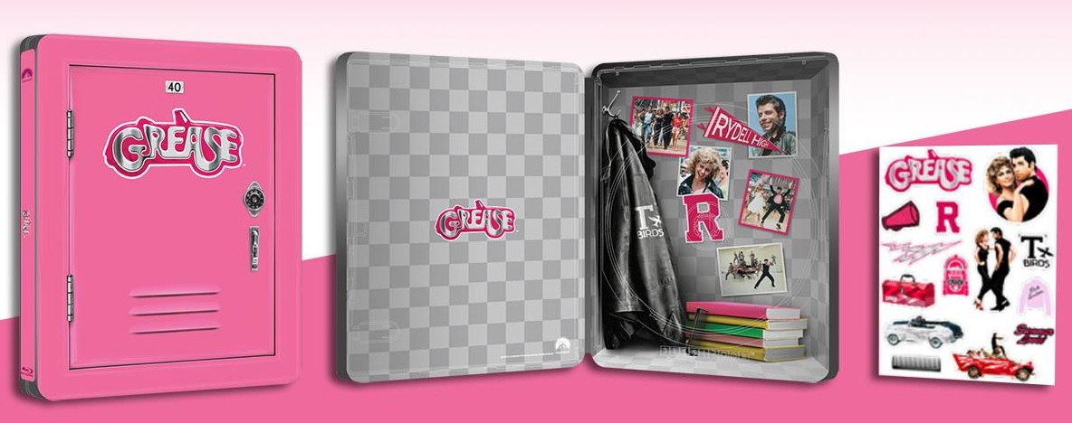 Grease steelbook 2
