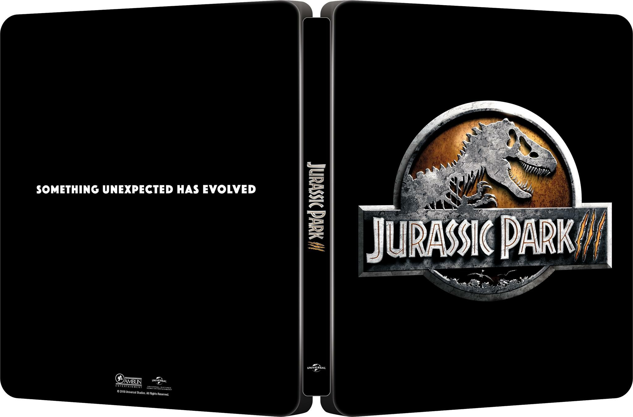 Jurassic Park III steelbook 1