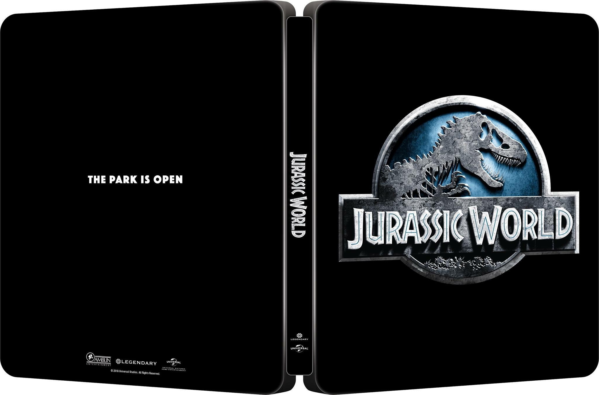 Jurassic World steelbook 1