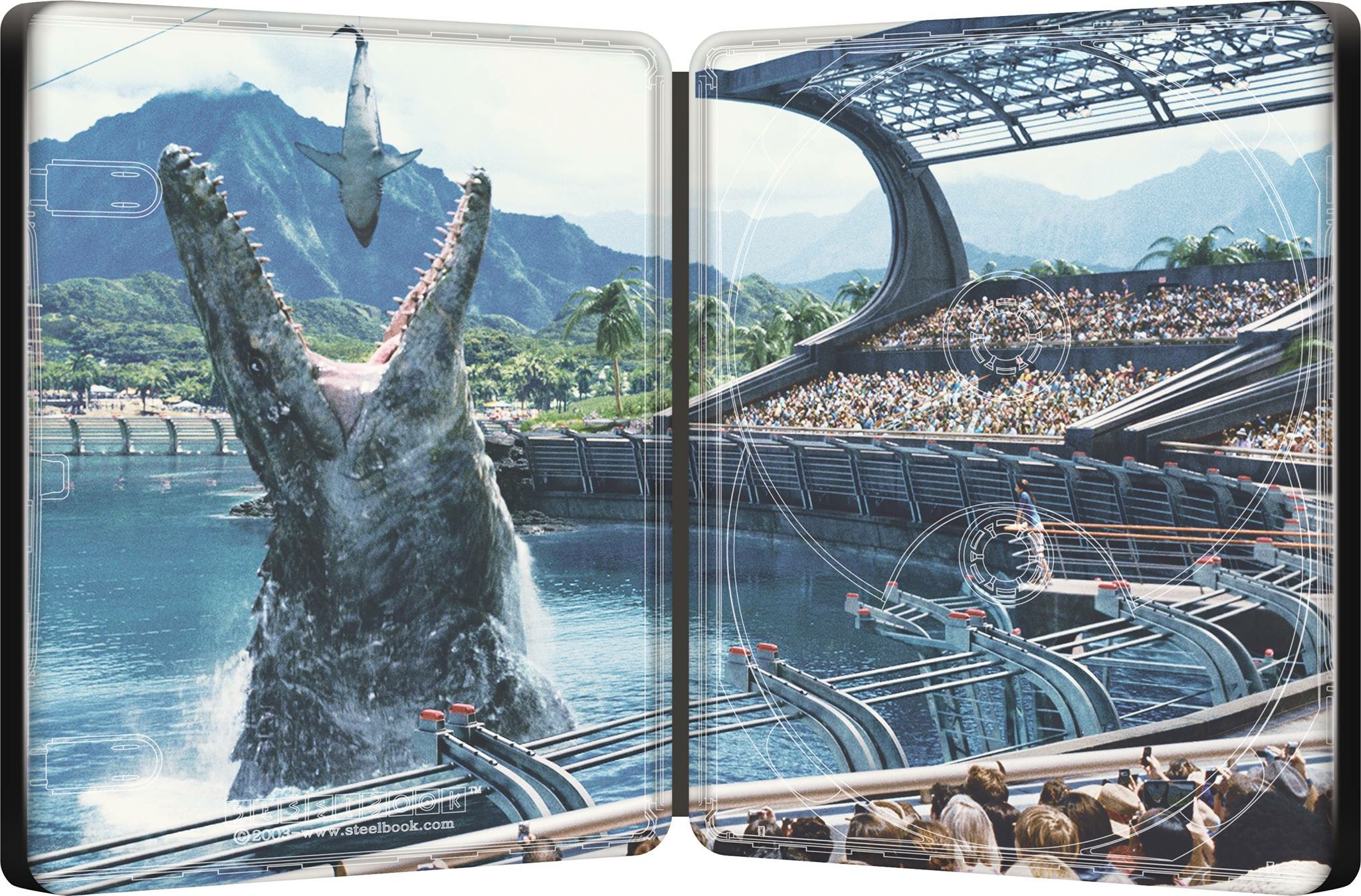 Jurassic World steelbook 2