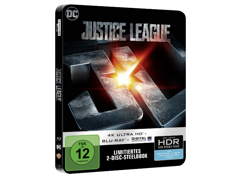 Justice League steelbook DE 2