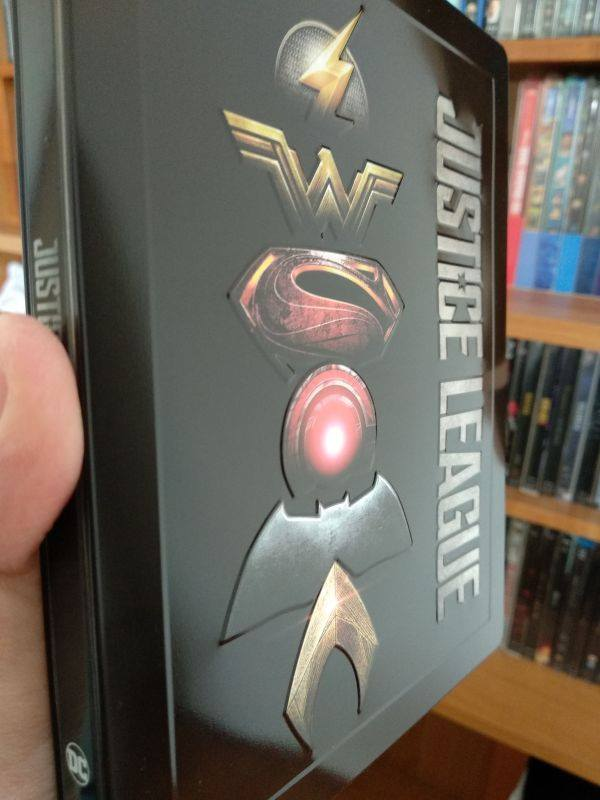 Justice League steelbook IT 1