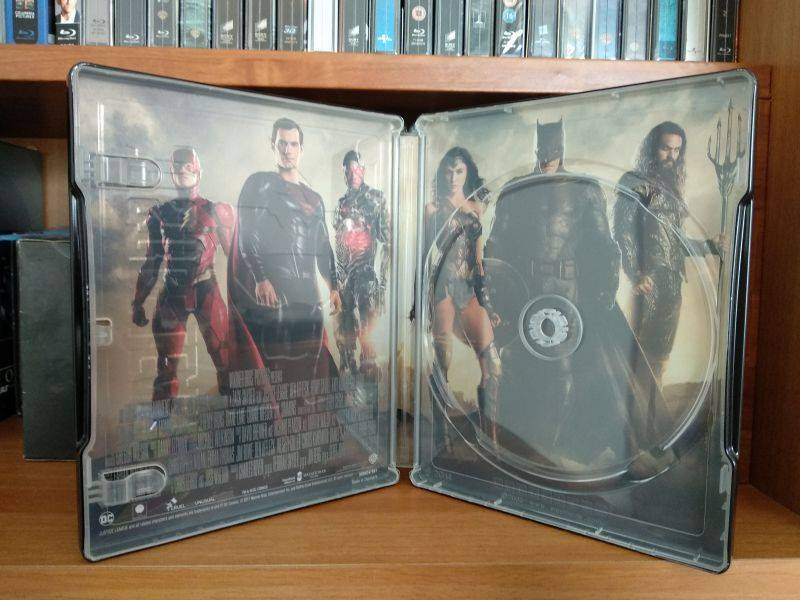 Justice League steelbook IT 3