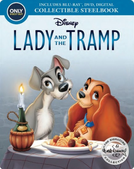 Lady Tramp steelbook bestbuy 1