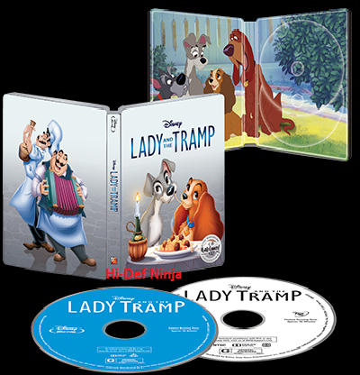 Lady Tramp steelbook