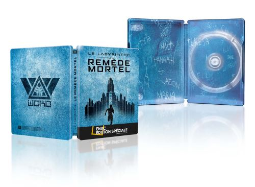 Le-Labyrinthe-le-remede-mortel-Edition-speciale-Fnac-Steelbook-Blu-ray