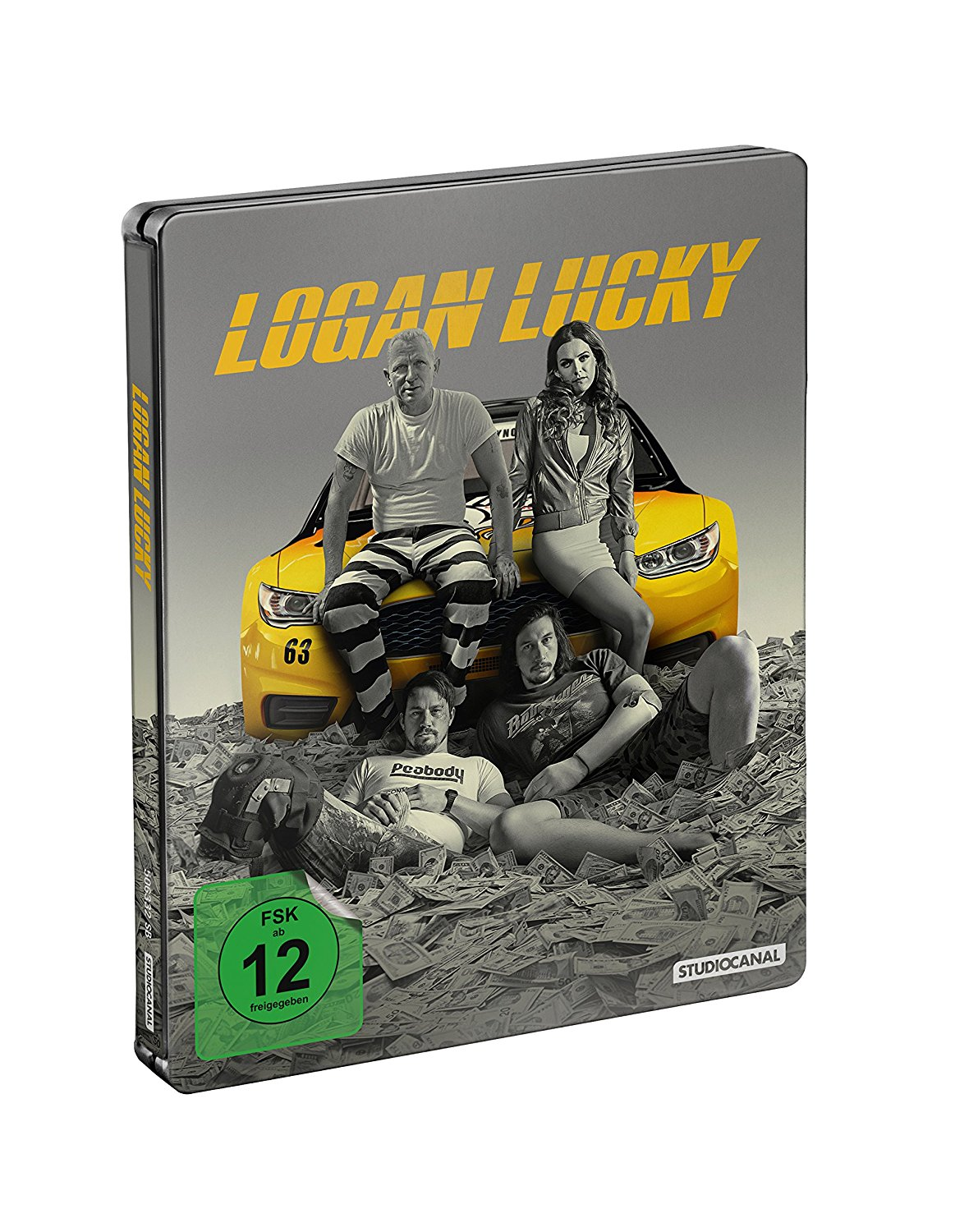 Logan Lucky steelbook