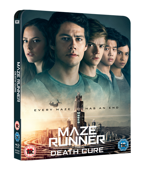 Maze Runner Death Cure steelbook