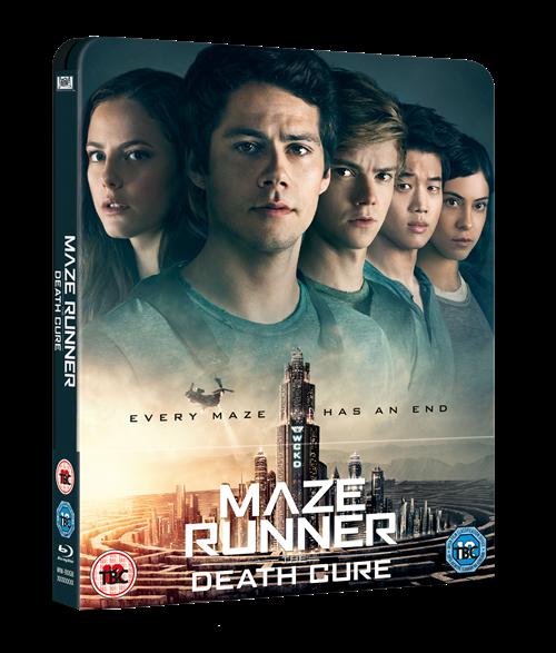 Maze Runner Death Cure steelbook