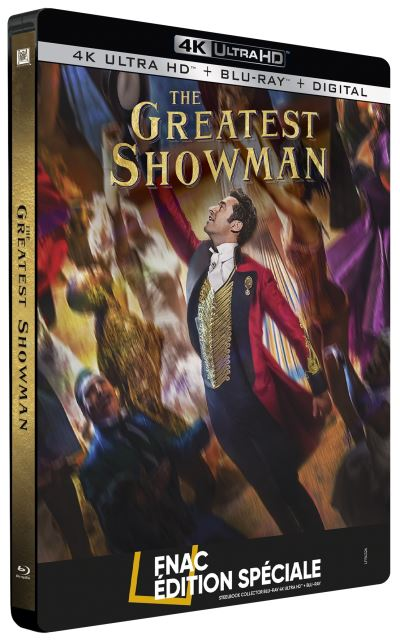The Greatest Showman steelbook 4k