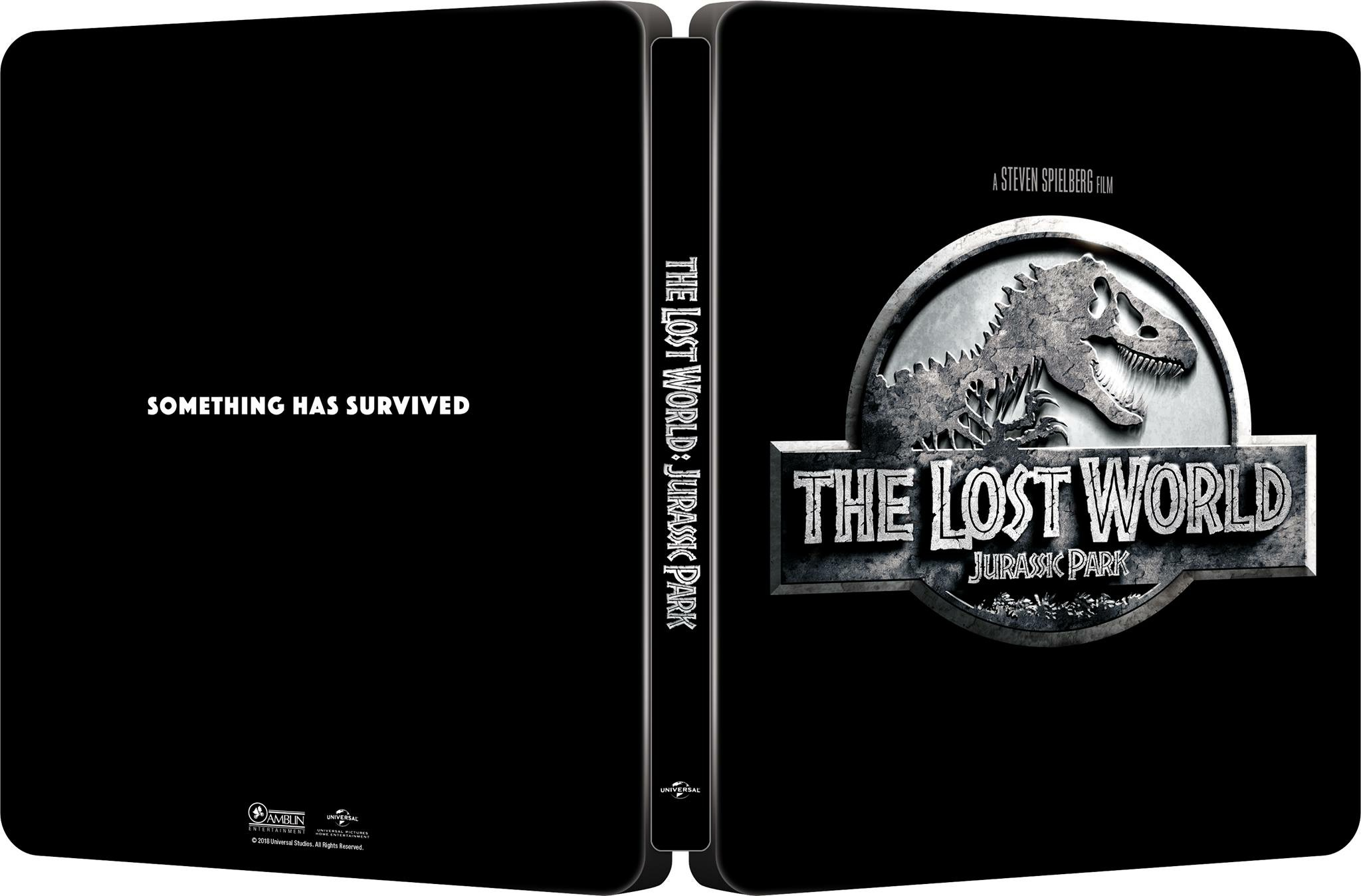 The Lost World Jurassic Park steelbook 1