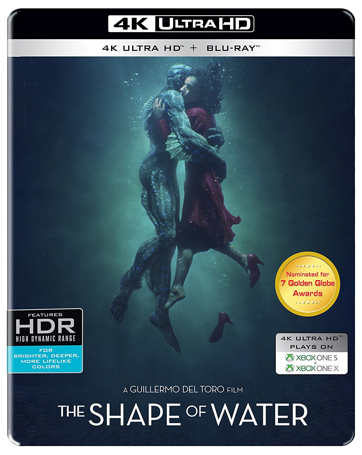 The Shape Of Water steelbook 2