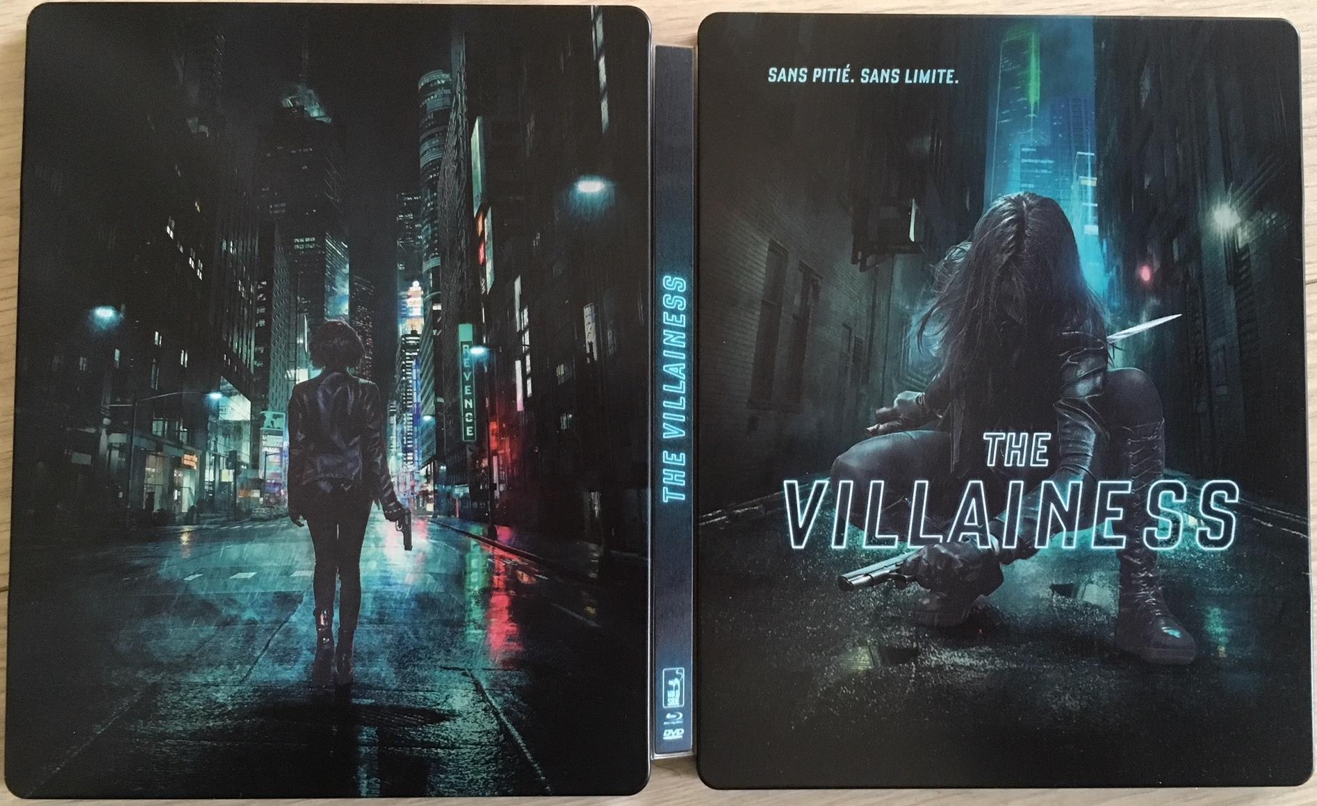The Villainess steelbook fr 1