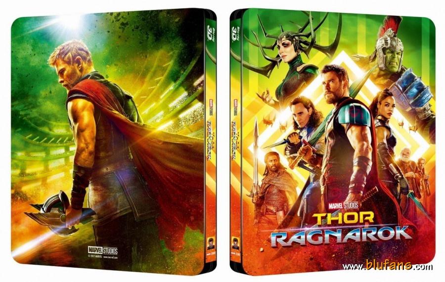 Thor Ragnarok steelbook blufans 1