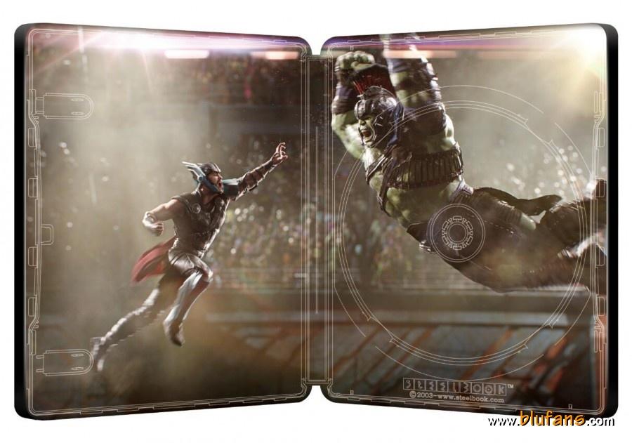 Thor Ragnarok steelbook blufans 2