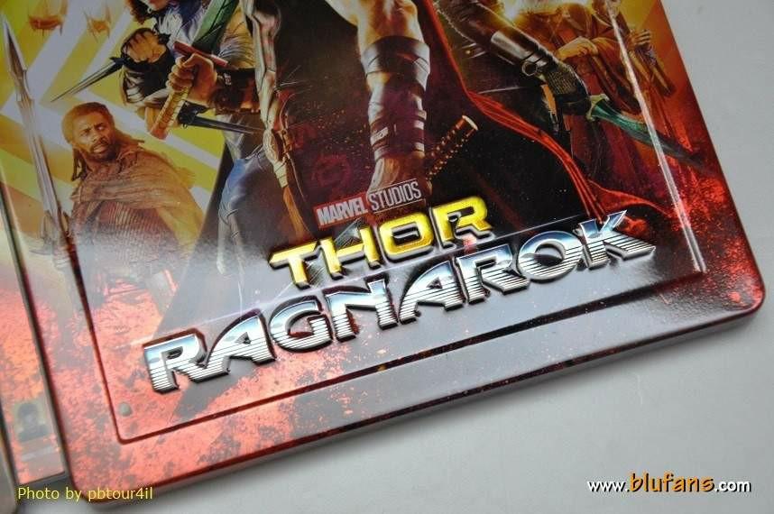 Thor Ragnarok steelbook blufans 4