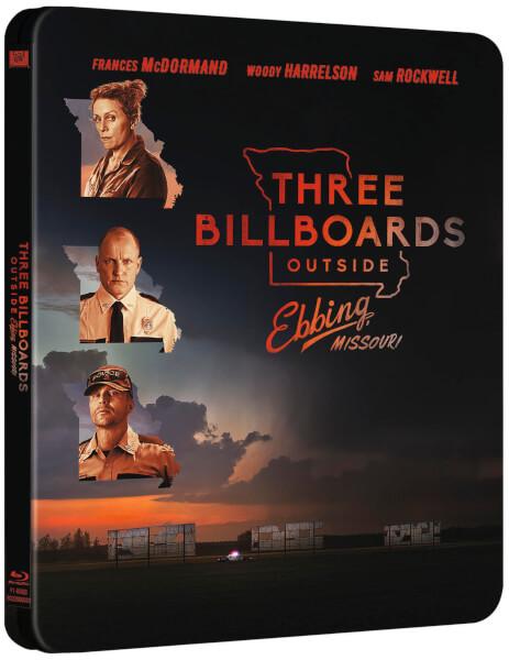 Three Billboards steelbook 1