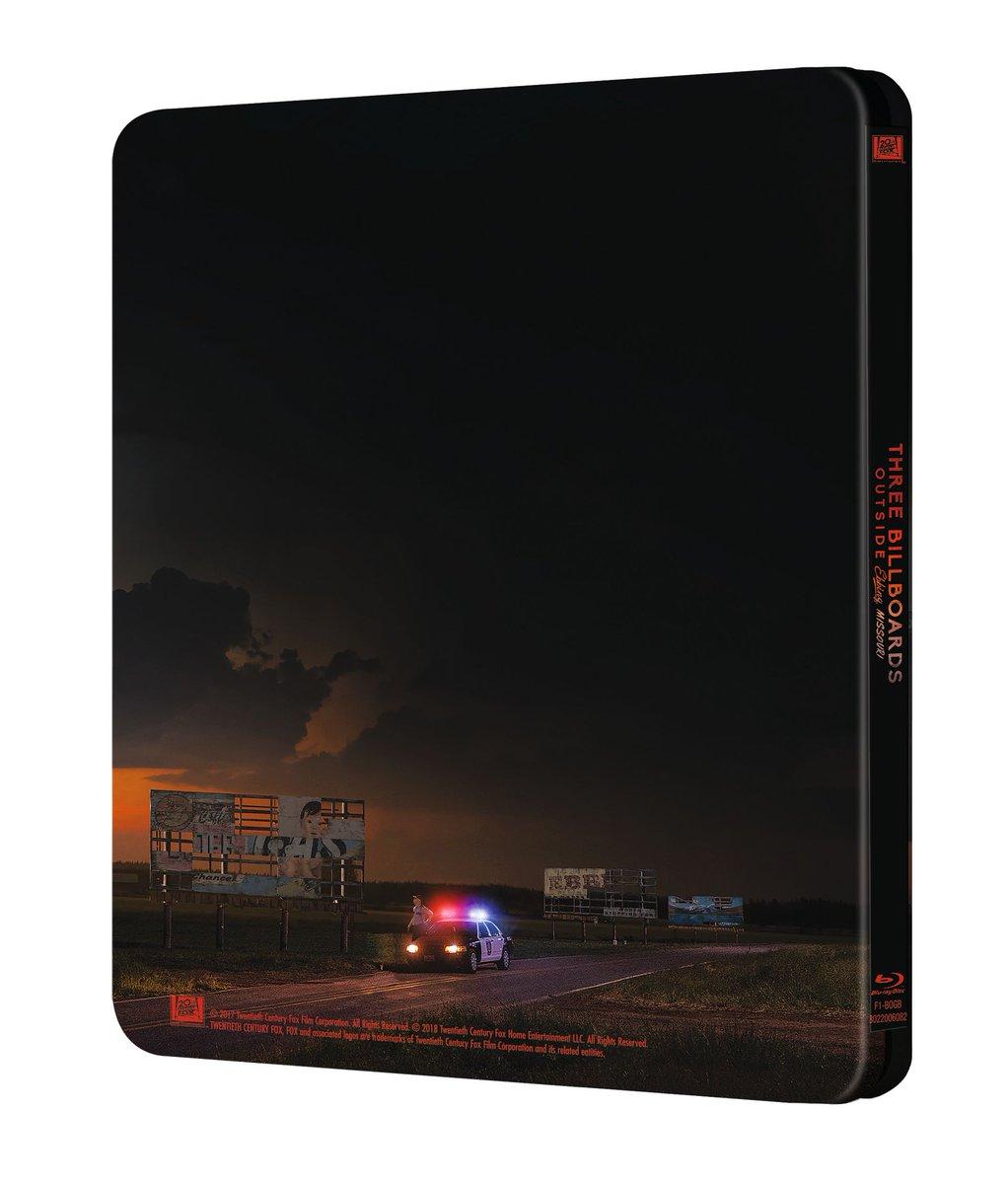 Three Billboards steelbook 2