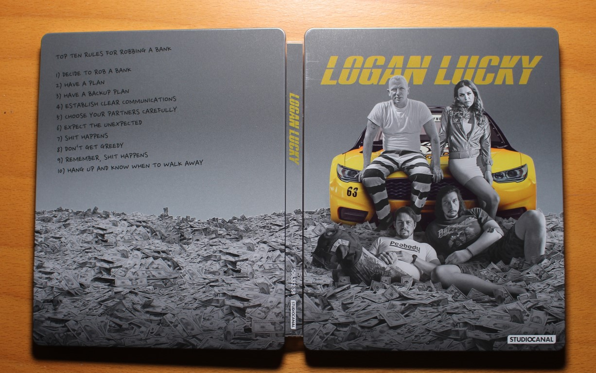 logan Lucky steelbook 1