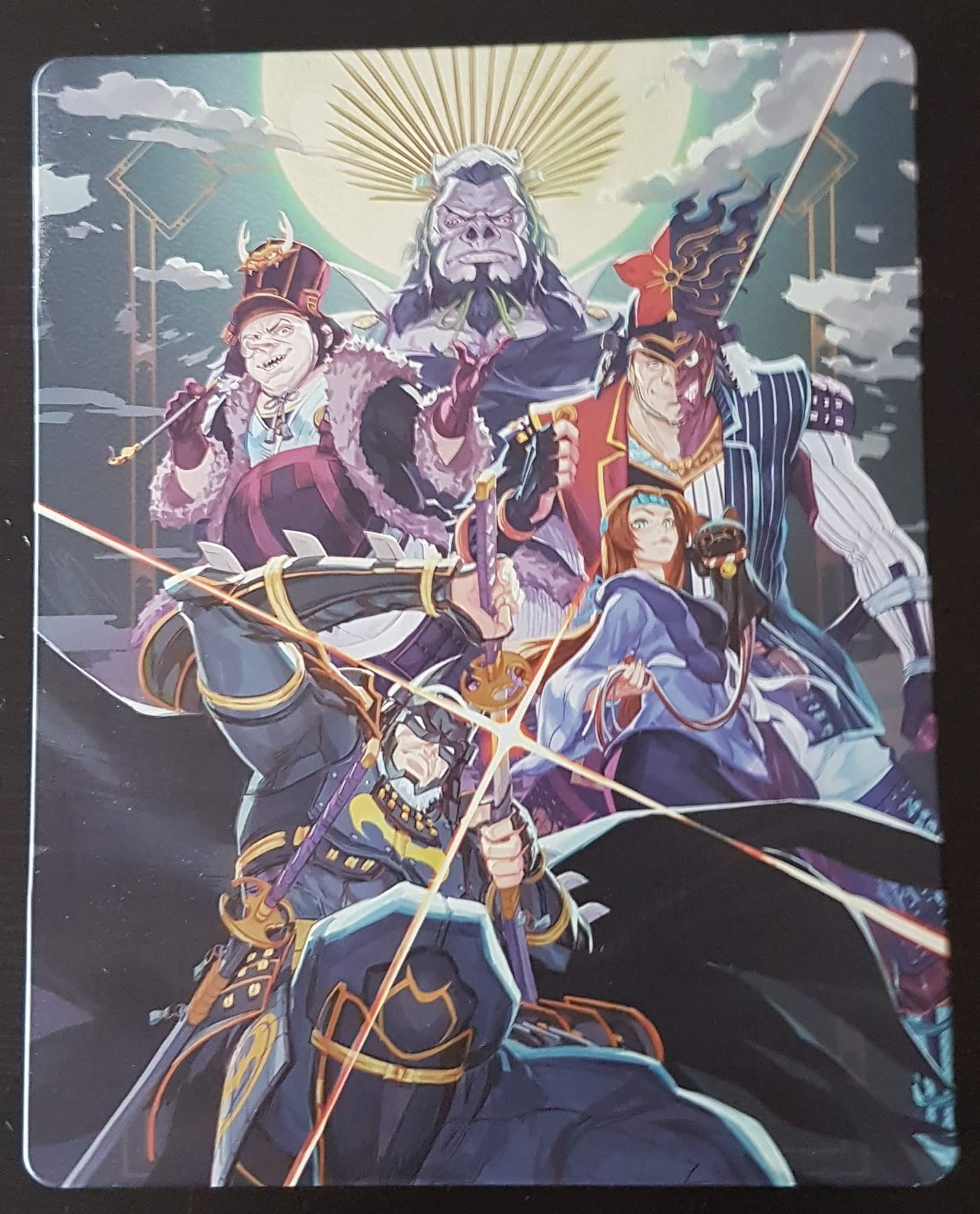 Batman Ninja steelbook 1