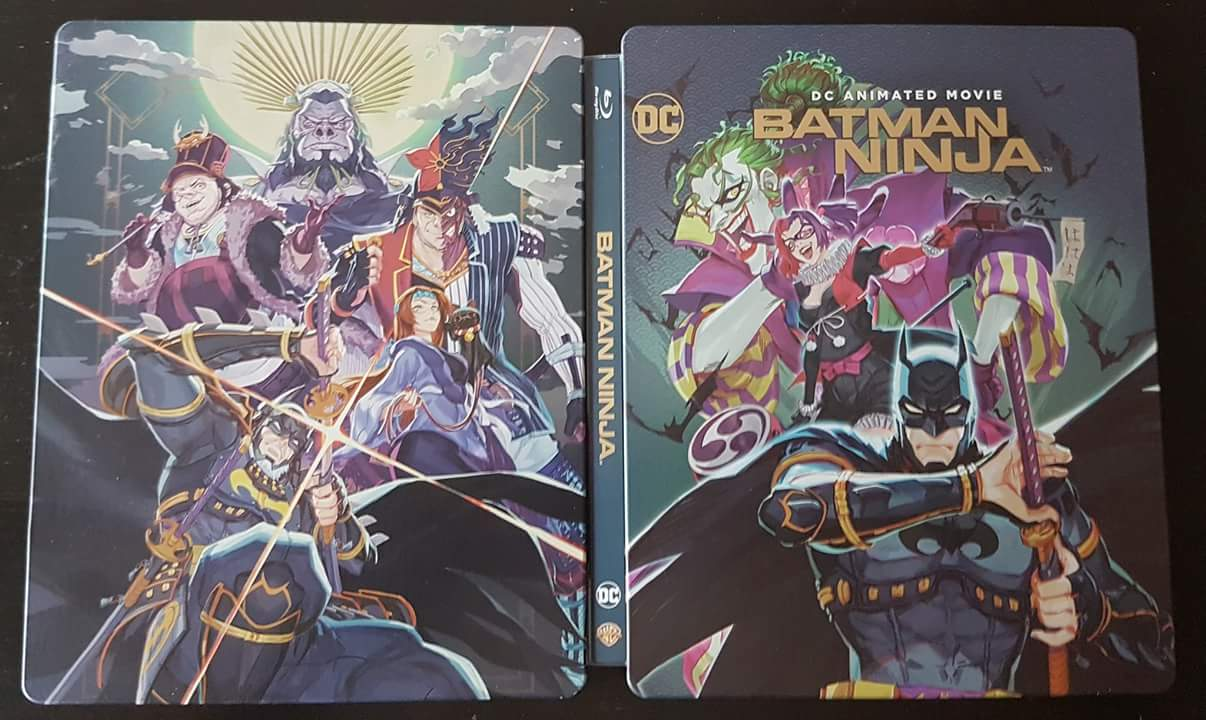 Batman Ninja steelbook 4