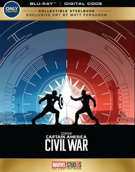 Captain America Civil War steelbook Bestbuy