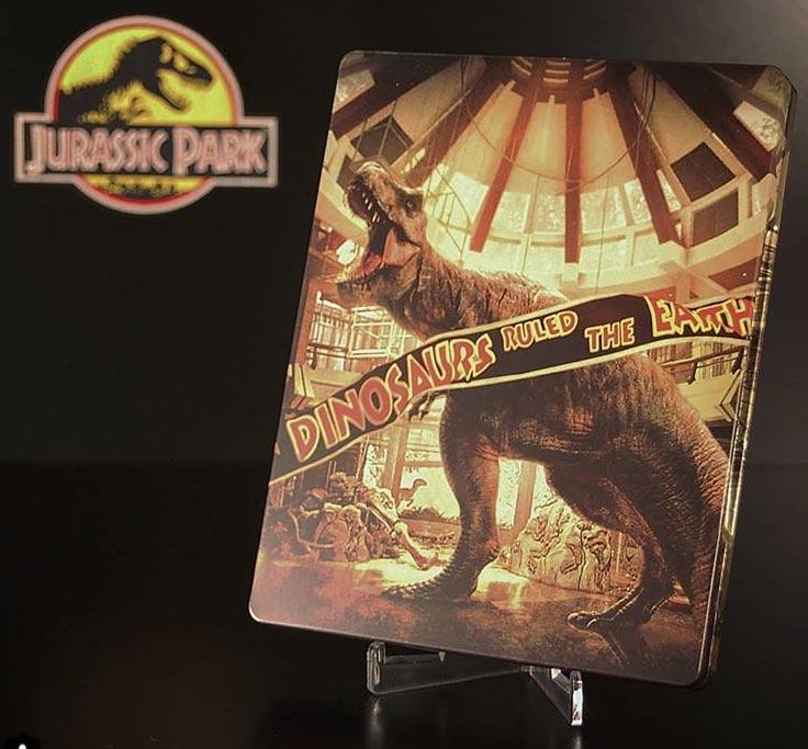 Jurassic-Park-Collection-steelbook 1