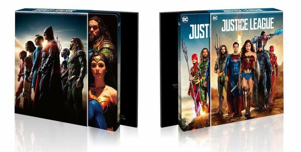 Justice League steelbook HDzeta 2