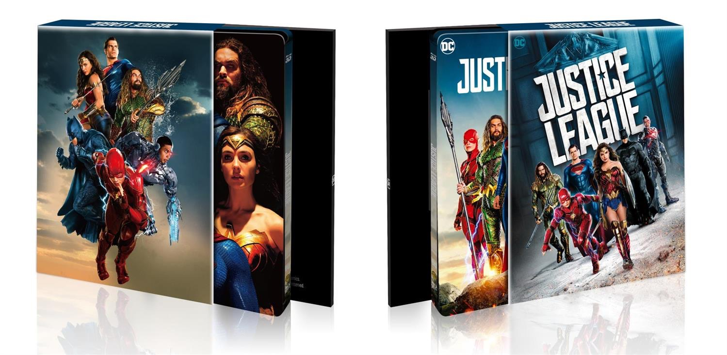 Justice League steelbook HDzeta 3