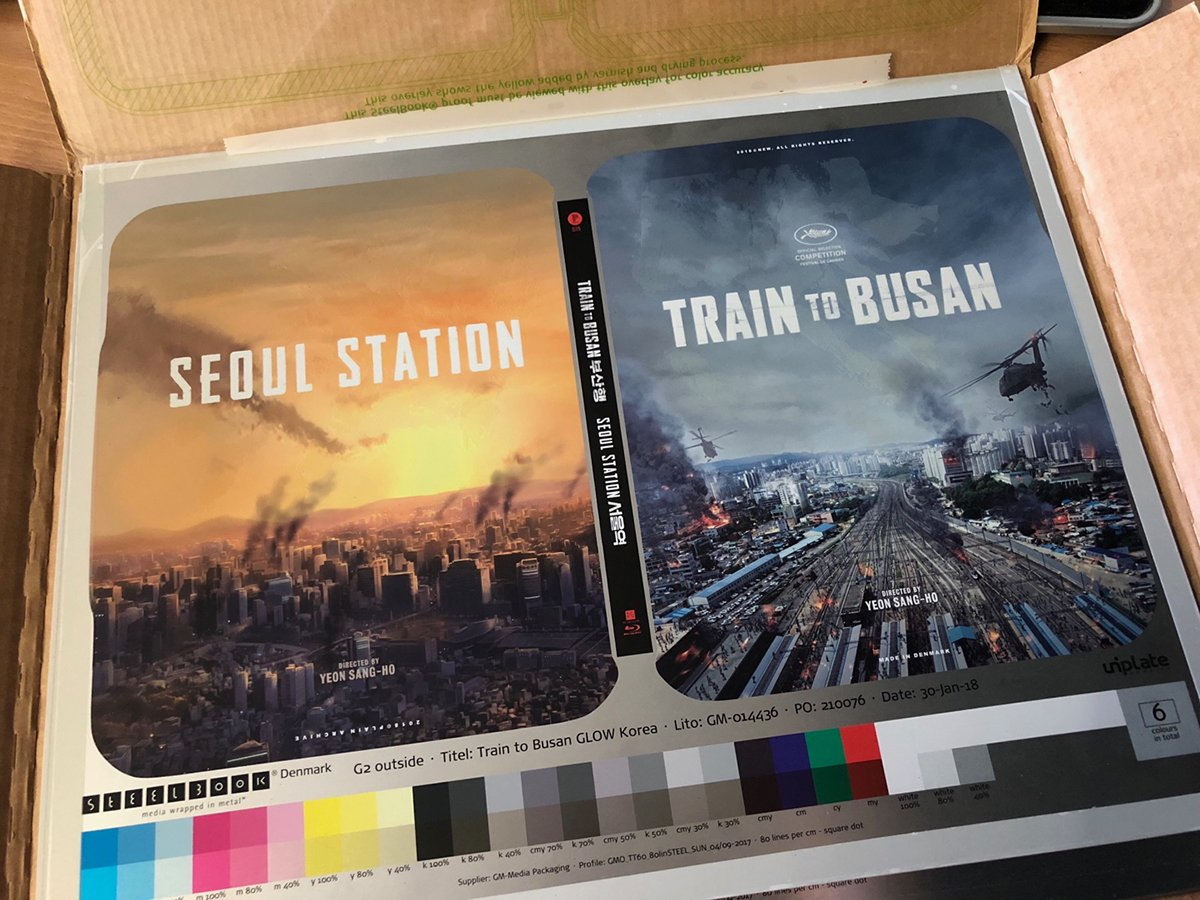 Train to Busan steelbook Plain Archive 1