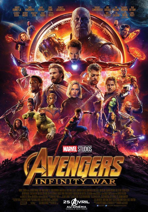 Avengers Infinity War final poster