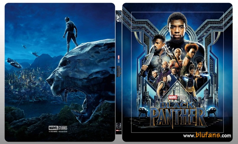 Black Panther steelbook blufans 1