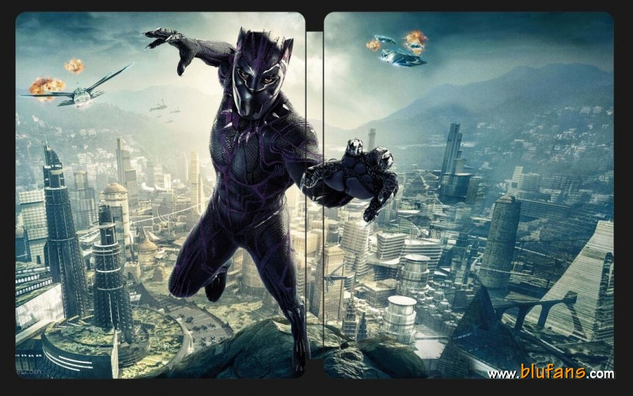 Black Panther steelbook blufans 2