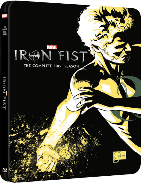 Iron Fist steelbook 1