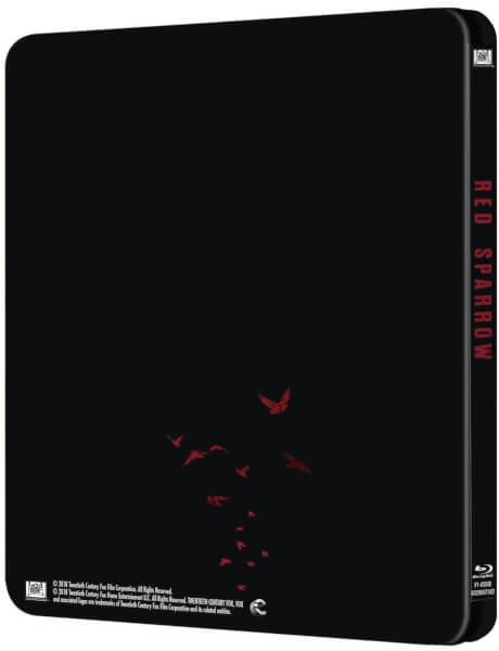 Red Sparrow steelbook zavvi 2