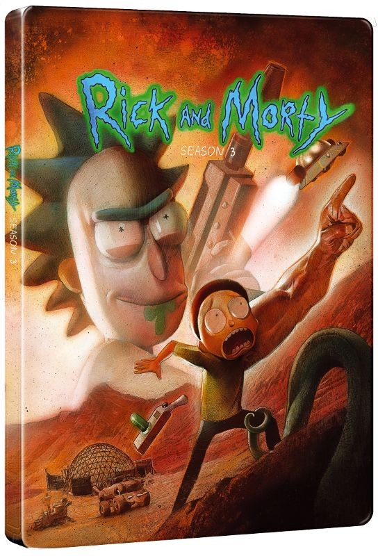Rick and Morty season 3 steelbook